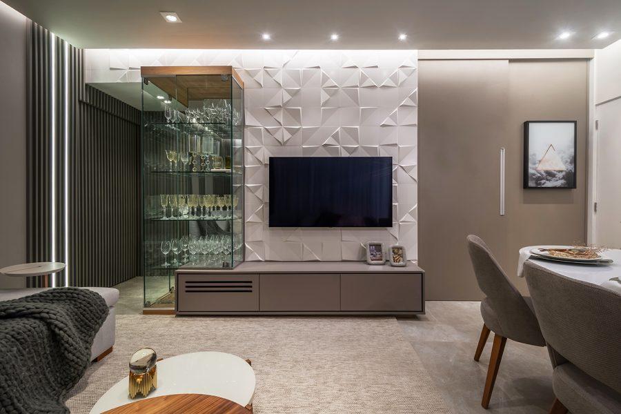 Imagem da experiência #Club&Casa Home – Apê recebe modernização providencial para recepcionar