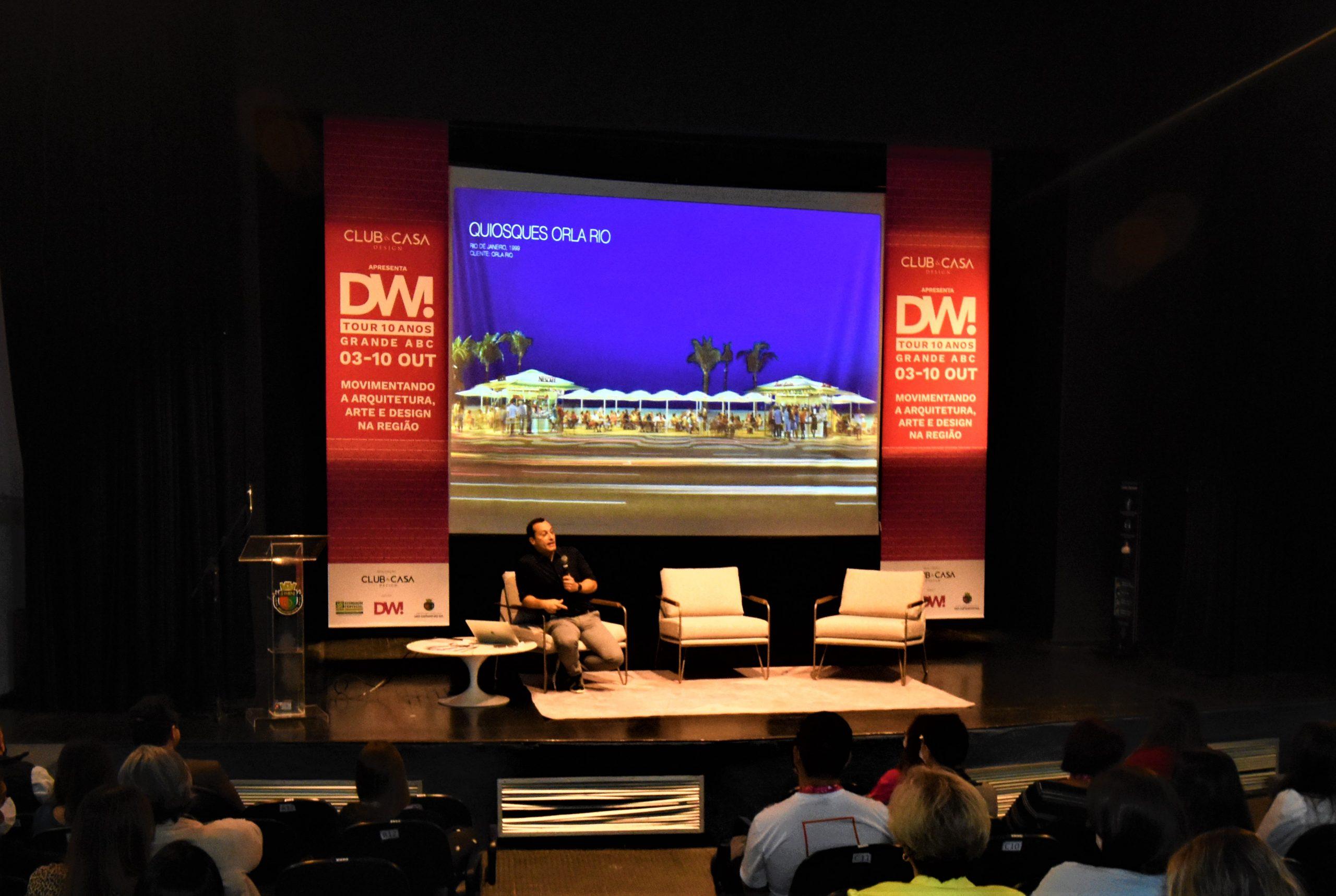 Imagem da experiência DW! Talks: um mergulho cultural, emocional e criativo!